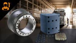 Bremstrommel und Beläge (180 mm) Service-Paket